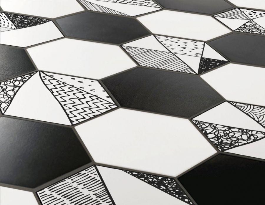 Гранитогрес Hexa Comic - ITT Ceramica