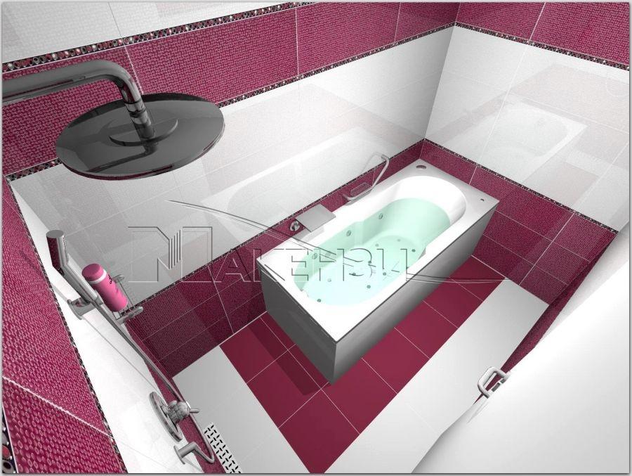 Проект на баня Anzer - Yurtbay Seramik