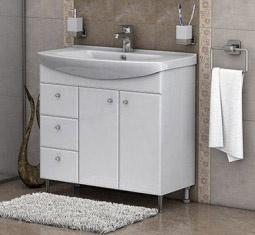 Долен шкаф  за баня Вегас