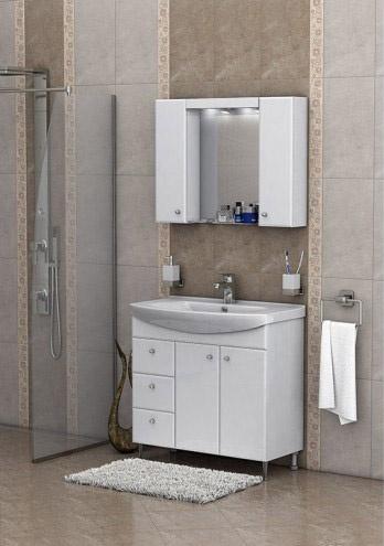 Мебел за баня Вегас- 85 см