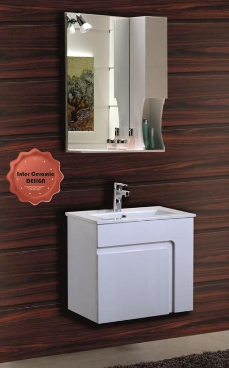 Комплект мебели за баня Бела 60см