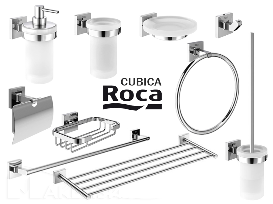 Аксесоари за баня - Cubica-Roca