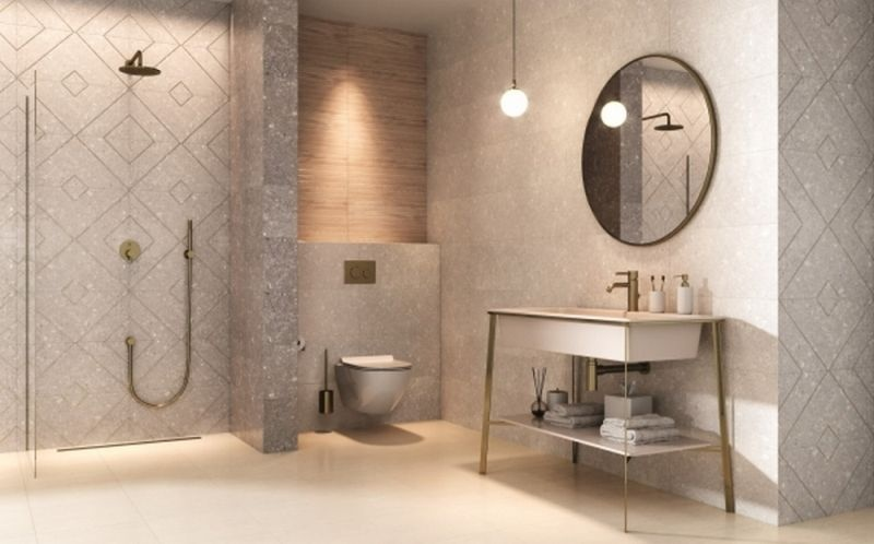 Плочки за баня Aragorn - Ceramica Paradyz