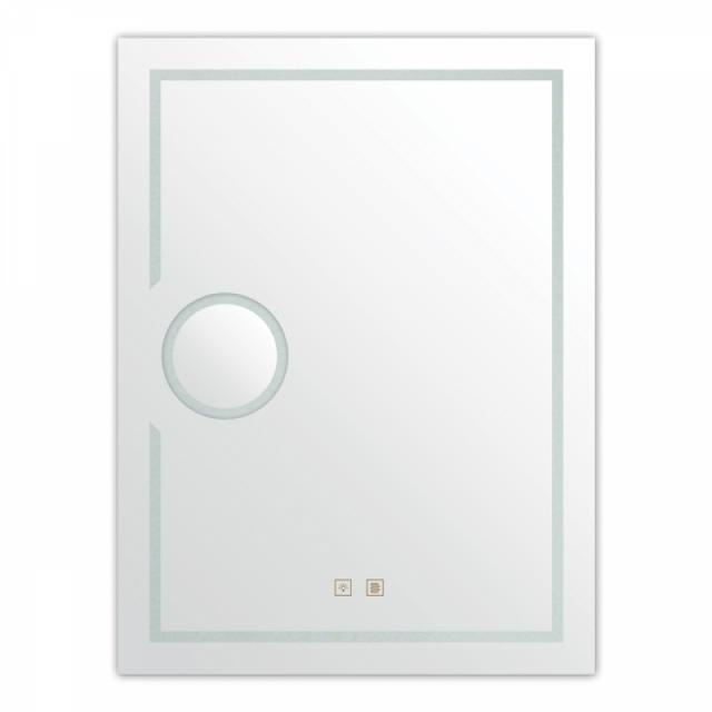 Огледало с лед осветление, увеличително огледало и система против замъгляване XD-052-17F