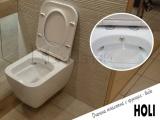 Окачена тоалетна Holi с вградено биде