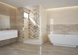 Плочки за баня Marmara Gris, Marron