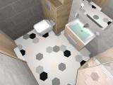 Проект на баня с плочки Hexa