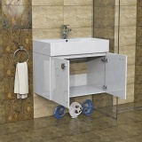 Горен шкаф за баня Мио - 2