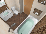 Проект на баня Aldea - Tubadzin