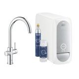 Кухненски смесител за филтрирана и/или газирана вода Grohe Blue Home 31455001