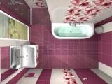 Проект на баня с плочки Ada Violet