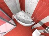 Проект на плочки за баня Spirit Rojo