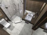 Проект на баня с плочки Dante и Kashmir