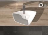 Умивалник от полимермраморен камък за плот ICB 5434