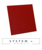 Червено право гланцирано стъкло 100мм