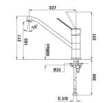 Смесител за кухня MT PLUS 993 - Teka - схема