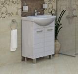 Долен шкаф Корнер за баня