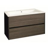 Долен, конзолен шкаф за баня с чекмеджета Фрида