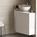 Долен PVC шкаф с мивката купа Dolce: 490 х 490 х 800 мм