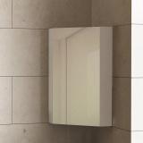 Горен PVC шкаф с огледало Dolce: 300 х 300 х 600 мм