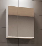 Горен шкаф с огледало за баня Мина - 55см