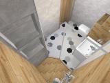 Проект на баня с плочки Hexa12