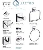 Аксесоари за баня Quattro - Kapitan