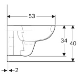 Тоалетна Selnova - скица 2