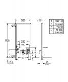 Структура за биде Rapid SL 38553001 - Grohe - Макензи