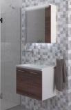 Шкаф за баня в дървесен цвят Манхатан