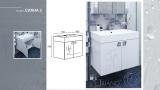 Долен шкаф за баня Сиана 2