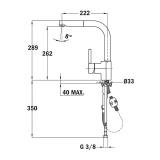 Смесител за кухня ARES 993 - Teka - схема