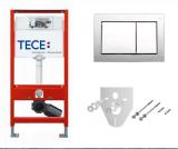 Структура Tece + Хром бутон + Шумоизолация + Крепежи