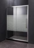 Стъклен преграден параван за баня SW-001D