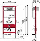 Скица на структура Tece