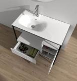 Каменна мивка ICC 4613 + Долен шкаф със стоманена рамка  ICC 4885