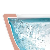 Окачена тоалетна Villeroy and Boch New Architectura 53см - Технология на отмиване  Rimles