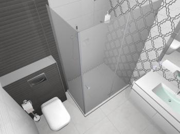 Проект на баня с плочки Premier - Omnia Ceramica